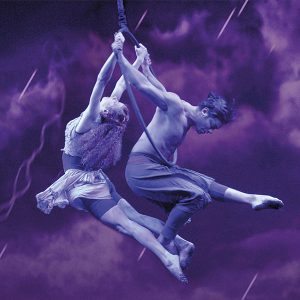 Odysseo the Storm Hoop Aerialists Rain