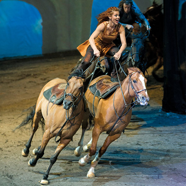 Three years after its smash week debut run in Toronto, Odysseo by Cavalia returns next spring. The world's largest touring production will be presented under the White Big Top in Toronto starting April 8.