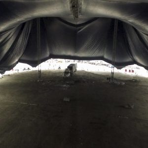 Under the White Big Top in Vancouver