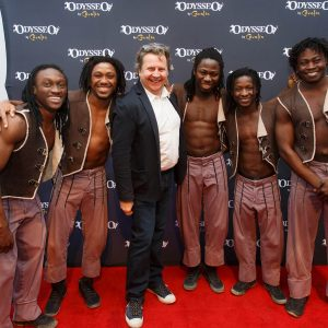 Cavalia co-founder, Normand Latourelle, at Odysseo Chicago premiere
