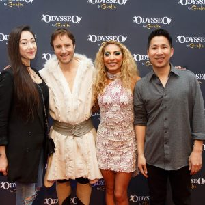 Odysseo fans with artists in Chicago