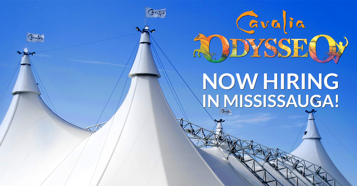 Join the Odysseo crew in Mississauga. Local Job Fair!