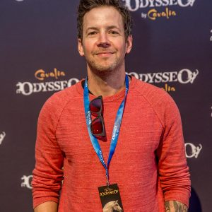 Simple Plan's Pierre Bouvier at Odysseo premiere in Camarillo