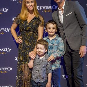 Annie Wersching and family at Odysseo premiere in Camarillo