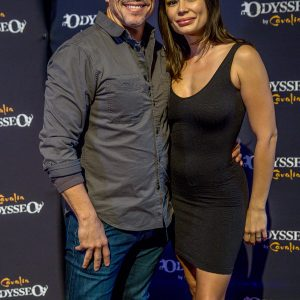 Al Coronel and Christiana Leucas at Odysseo premiere in Camarillo