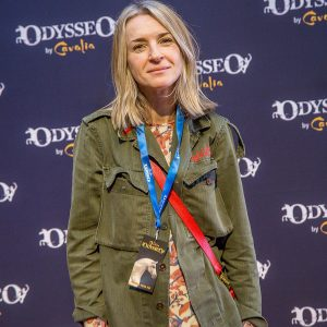 Ever Carradine at Odysseo premiere in Camarillo