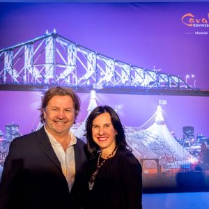 Normand Latourelle (Founder and President) and Valerie Plante (Mayor of Montreal)